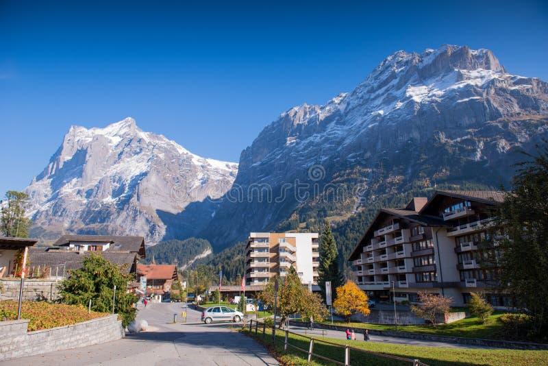 Grindelwald Zwitserland royalty-vrije stock afbeelding