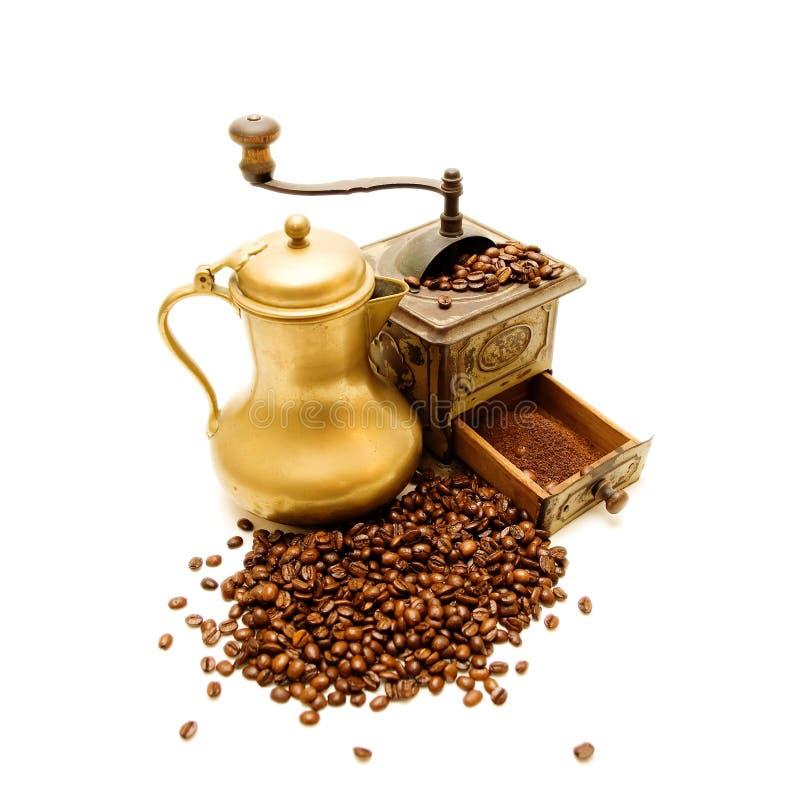 grinder för kaffe 2 arkivbild