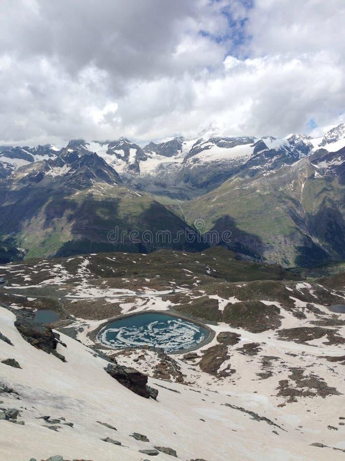 Grinderwald, Zermatt, Zwitserland royalty-vrije stock afbeelding