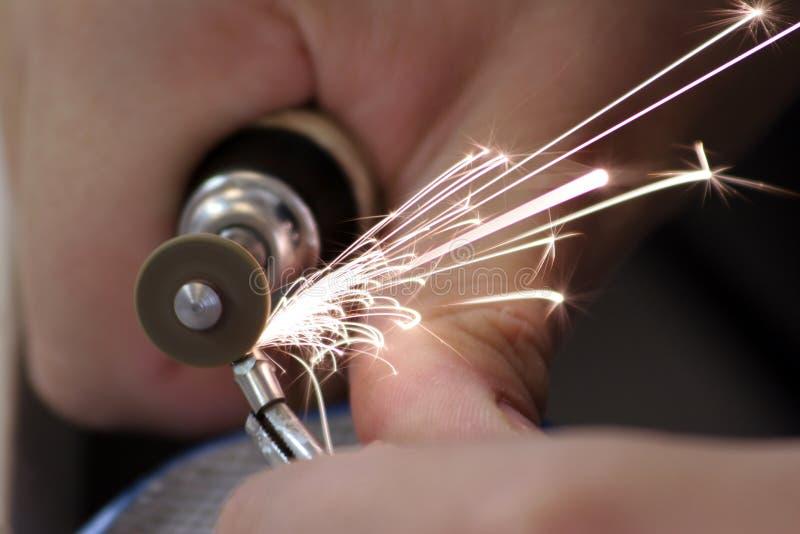 Download Grinding stock image. Image of precision, danger, grind - 1369831
