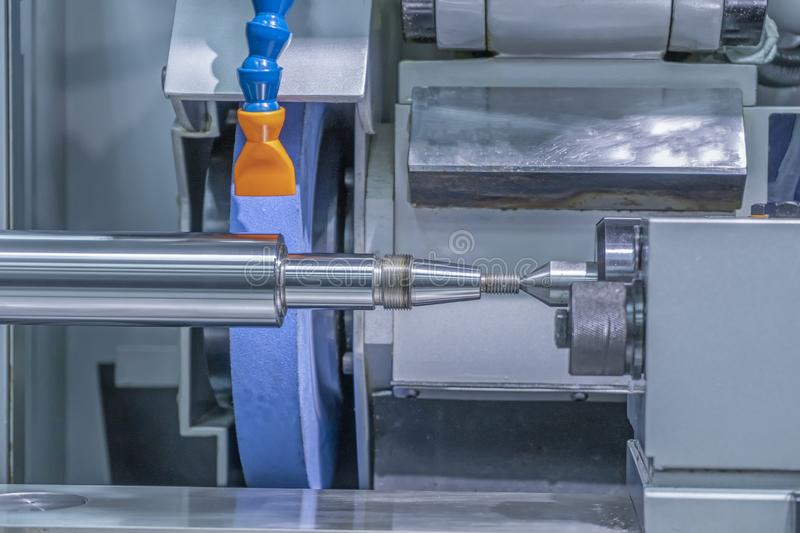 Grinding machine in factory on the mold shop royalty free stock photos