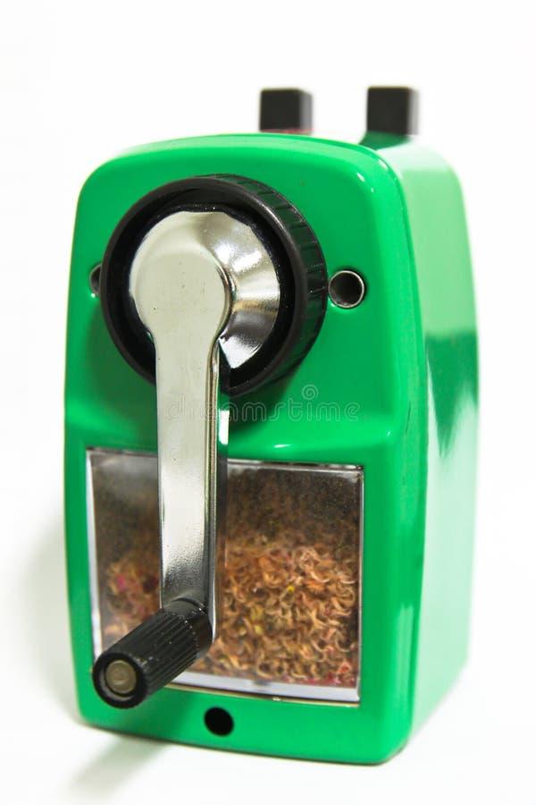 Free Grinding Manual Pencil Sharpener Stock Photography - 18221362
