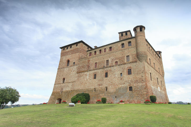 Grinzane Cavour Castle stock photography