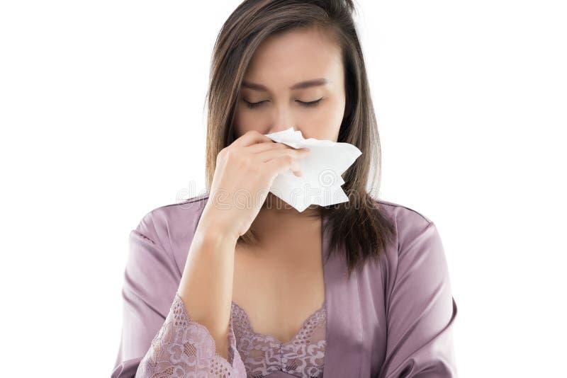 gripe fotografía de archivo