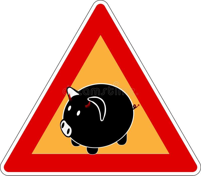 Grippe 4 de porcs illustration de vecteur