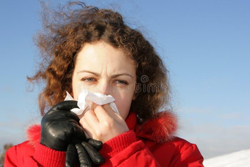 Grippe image stock