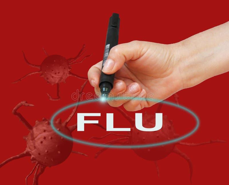 grippe illustration stock