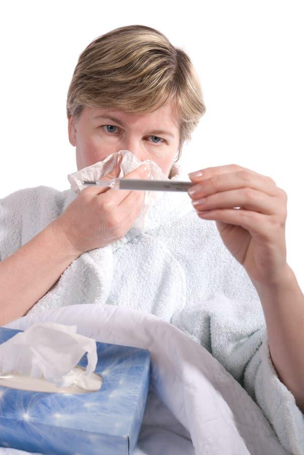 Grippe foto de stock royalty free