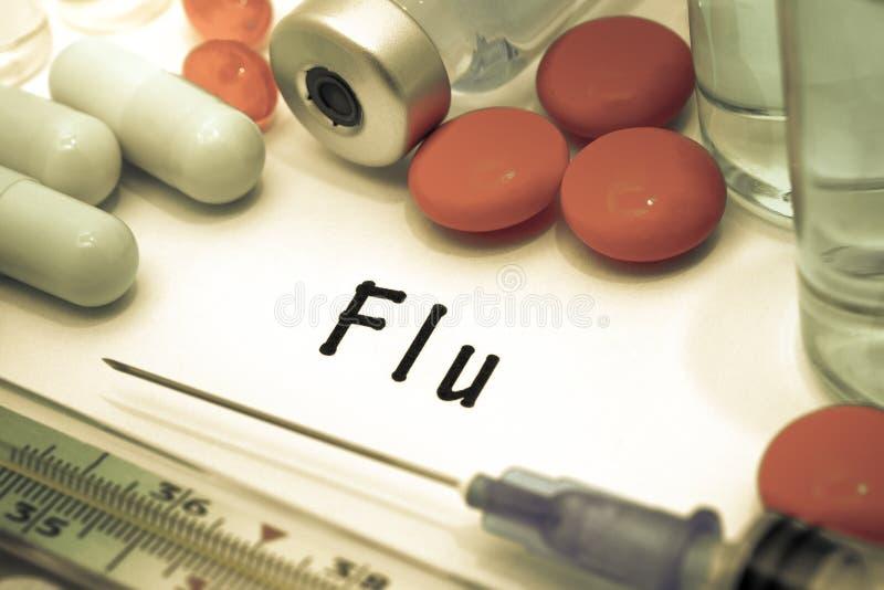 grippe lizenzfreies stockbild