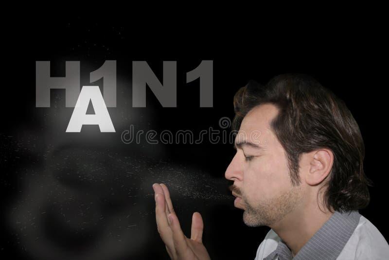 Grippe A H1N1 photo libre de droits