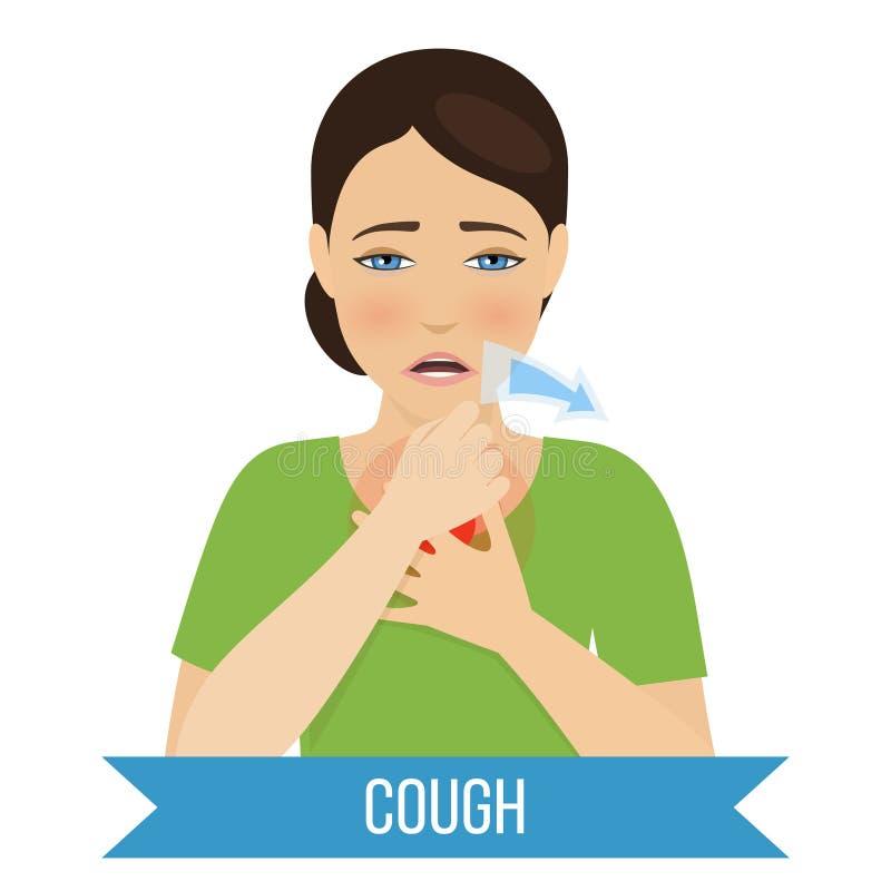 Grippe und K?lte stockfoto