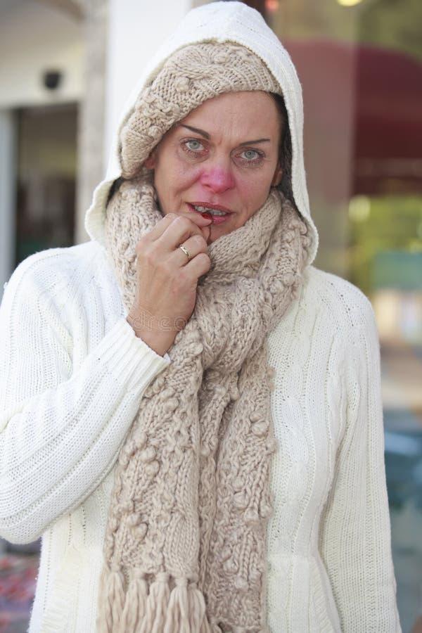 Grippeepidemie stockfoto