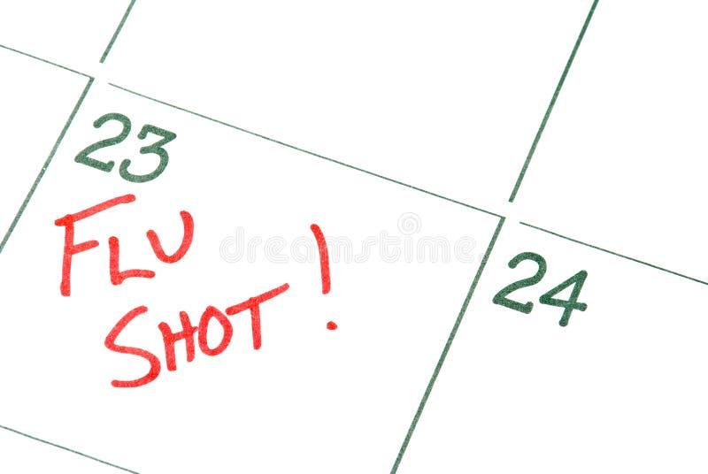 Grippeimpfung lizenzfreie stockbilder