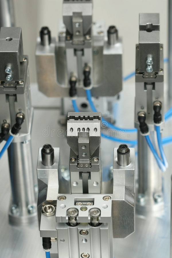 Gripper of the robot stock images