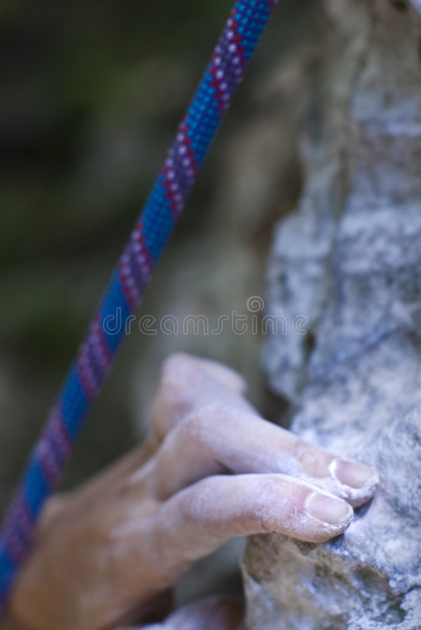 Download Gripping stock image. Image of body, powder, climber, mineral - 2821331