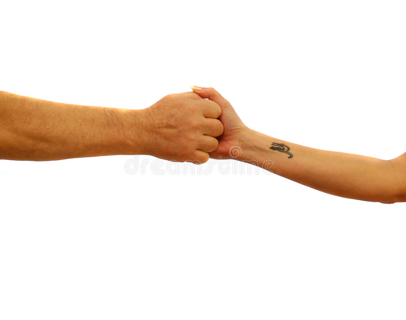 Download Gripping Hands Stock Images - Image: 2025654
