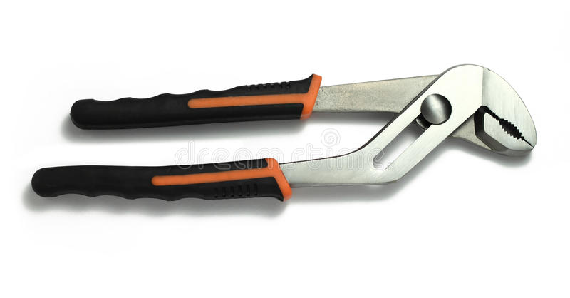Download Gripping plier stock photo. Image of black, heavy, white - 11598914