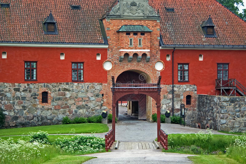 gripsholm замока стоковая фотография rf