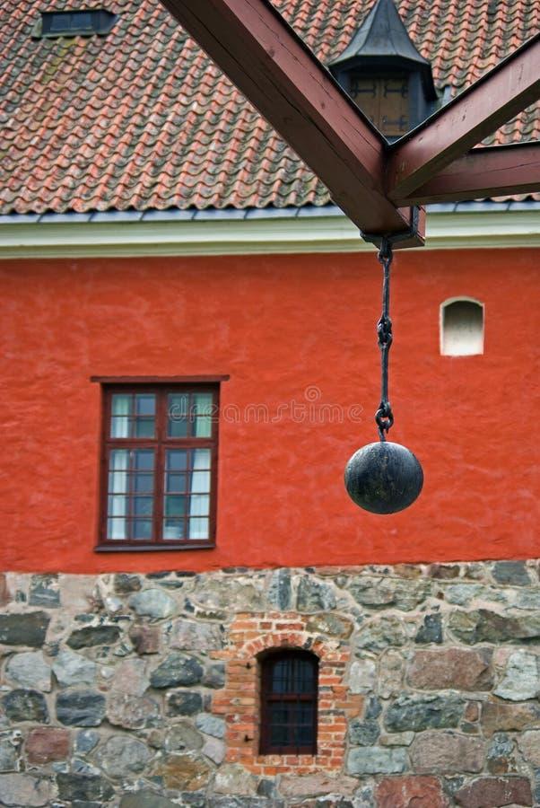 gripsholm замока стоковое изображение rf