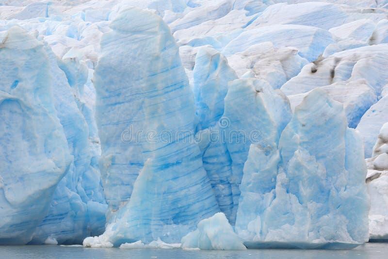 Gris étonnant de glacier images stock