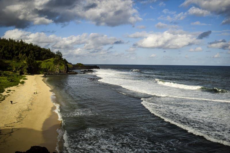 Gris Gris Beach foto de archivo libre de regalías