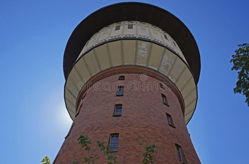 ` Gris d'Alisa de ` de tour d'eau, Riga photographie stock