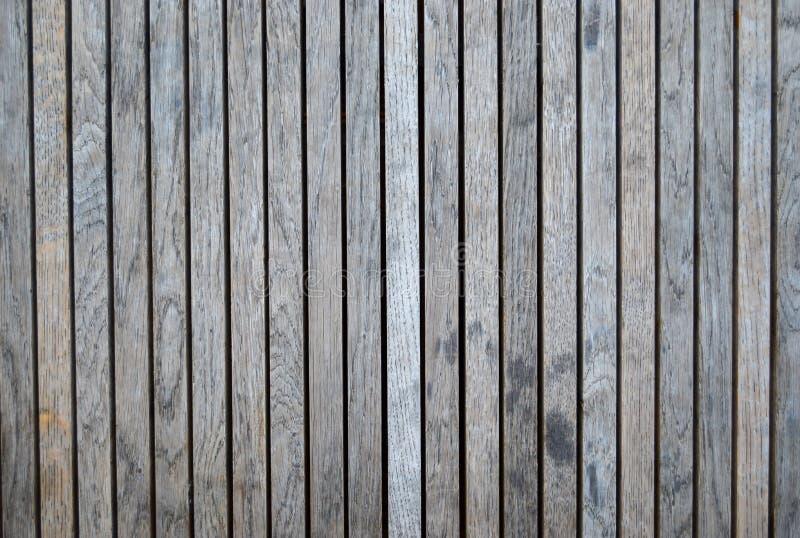 Gris de madera del decking en color fotografía de archivo
