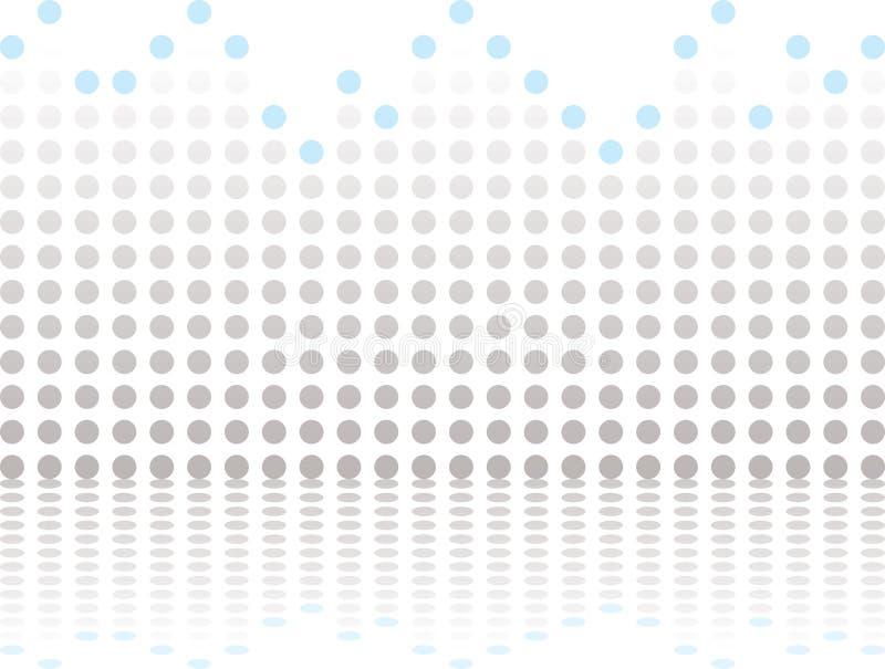Gris gráfico de la barra stock de ilustración