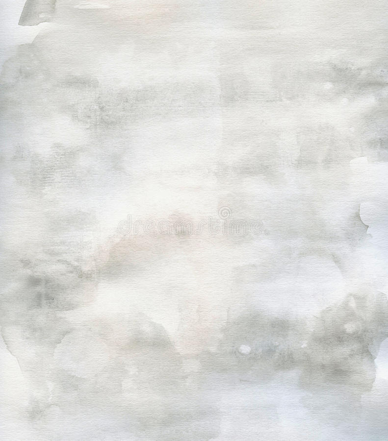 Gris grunge subtile de fond d'aquarelle de texture illustration de vecteur