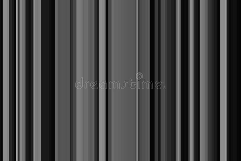Gris negro monocrom?tico del metal blanco geométrico de acero ilustración del vector