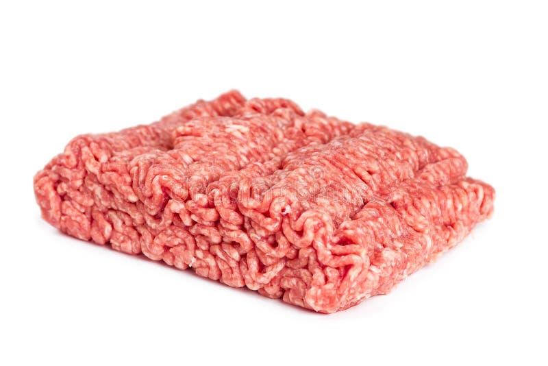Griskött- och nötköttfärs arkivfoton