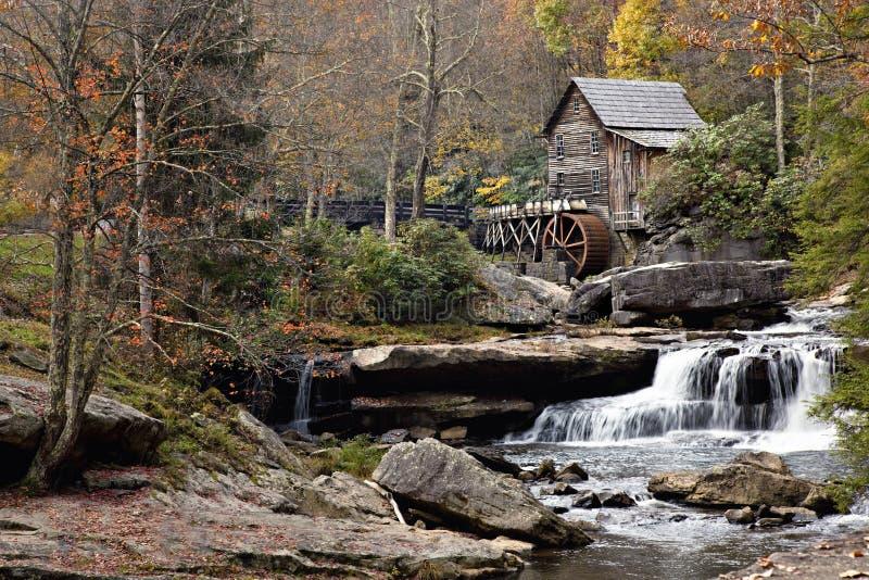 Gristmill in de Herfst royalty-vrije stock foto