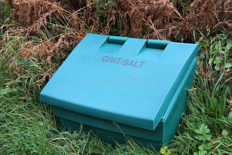 Download Grit box. stock image. Image of weather, road, chloride - 21992947