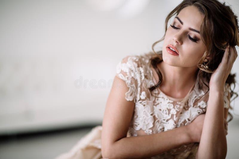 Griterío de la novia fotografía de archivo libre de regalías