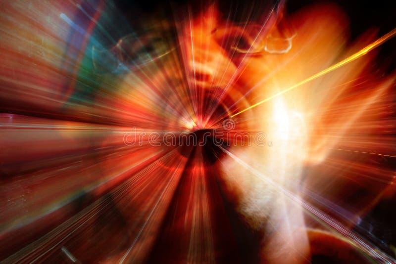 Grito espiritual imagens de stock