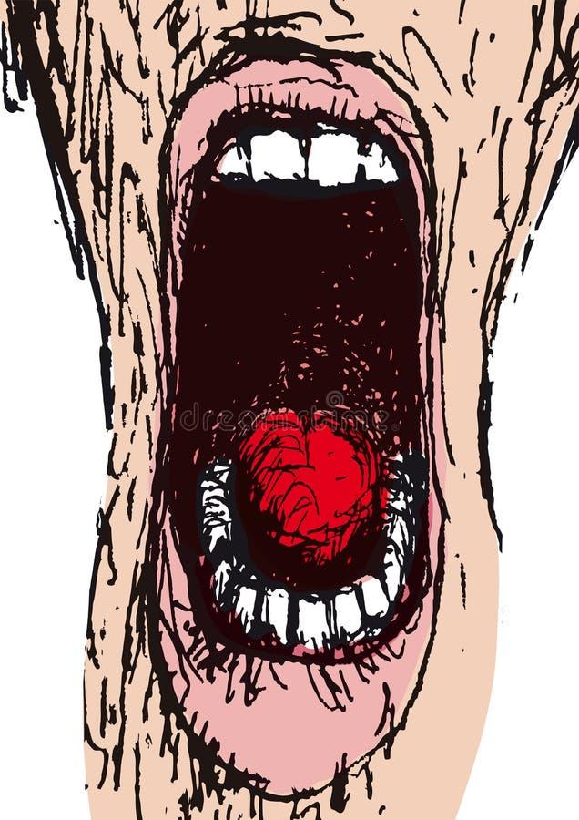 Grito (vector) libre illustration