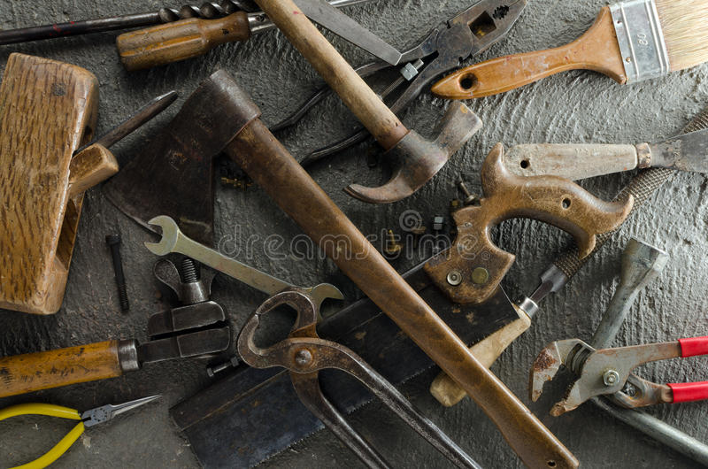 Download Gritty Hand Tools Royalty Free Stock Photos - Image: 32482428