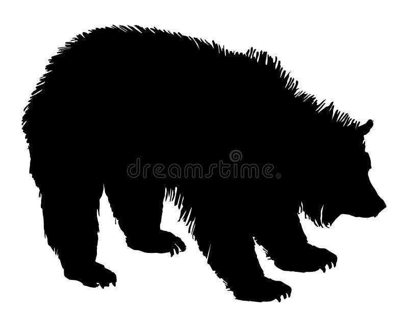 grizzly royalty ilustracja