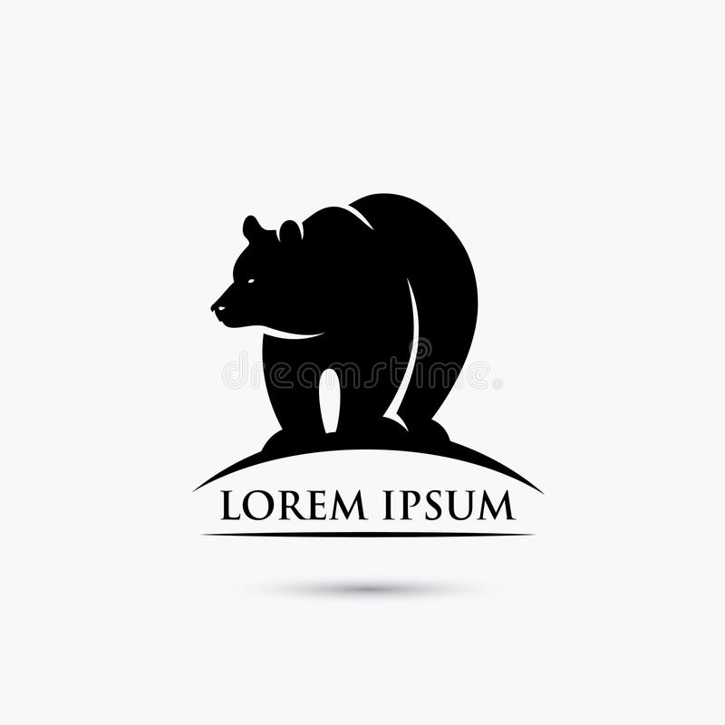 Free Grizzly Bear Sign - Vector Illustration Stock Photography - 96880722
