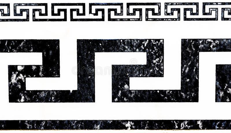 Grka Stylowy tło, tekstura wzór/ obraz stock
