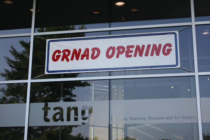 Grnad Opening royalty free stock image