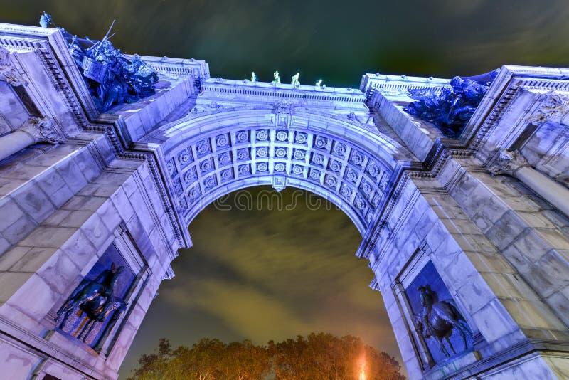 Großartige Armee-Piazza - Brooklyn, New York stockfotografie
