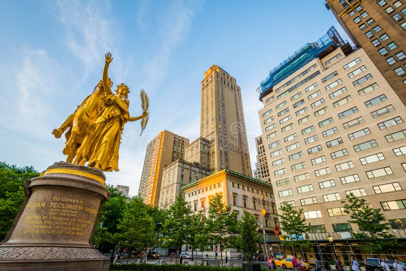 Großartige Armee-Piazza, in Midtown Manhattan, New York City lizenzfreie stockbilder