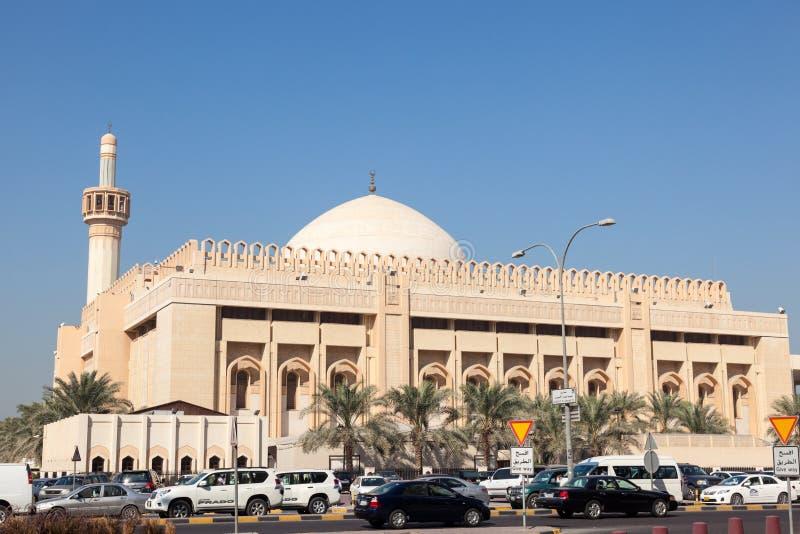 Großartige Moschee in Kuwait-Stadt stockfotos