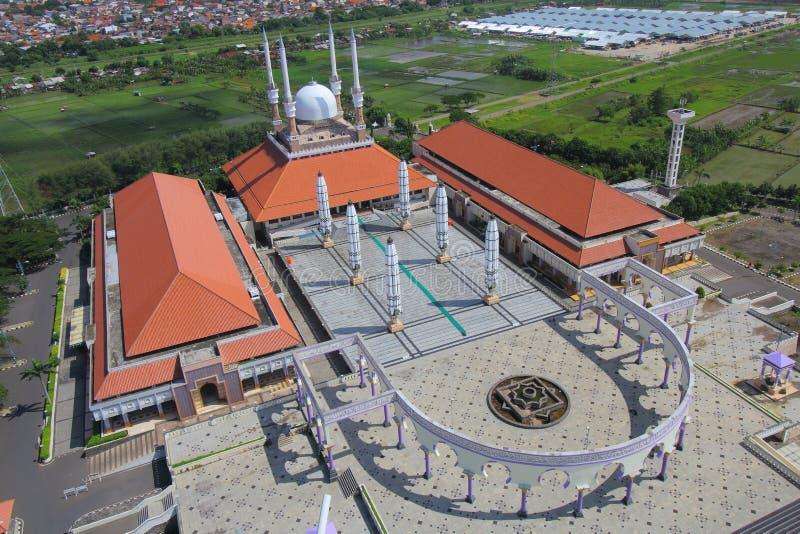 Großartige Moschee Semarang lizenzfreie stockbilder