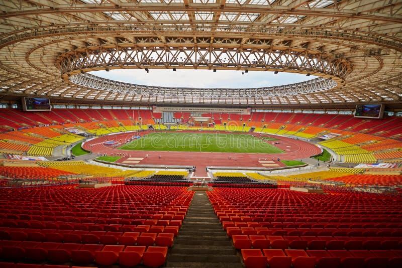 Großartige Sport-Arena olympischen Komplexes Luzhniki stockfoto
