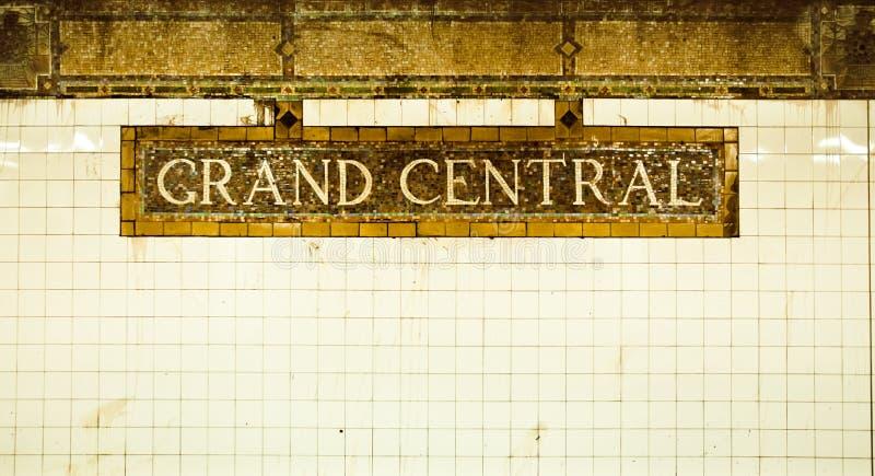 Großartige zentrale Station stockfoto