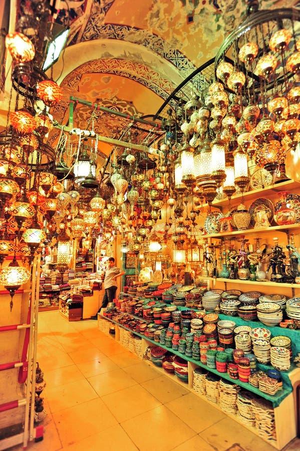 Großartiger Basar Istanbul stockbild