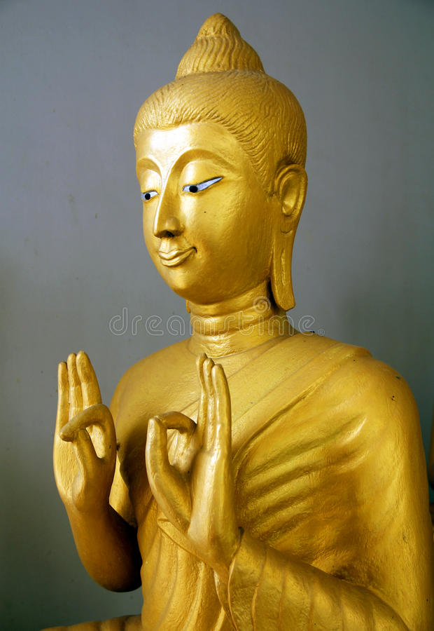 Großartiger Buddha lizenzfreie stockfotografie