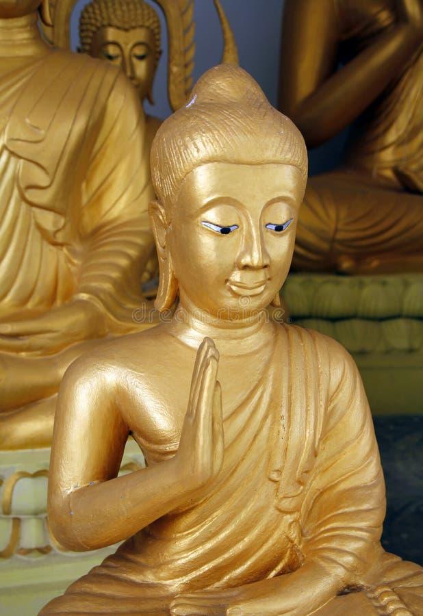 Großartiger Buddha lizenzfreies stockbild